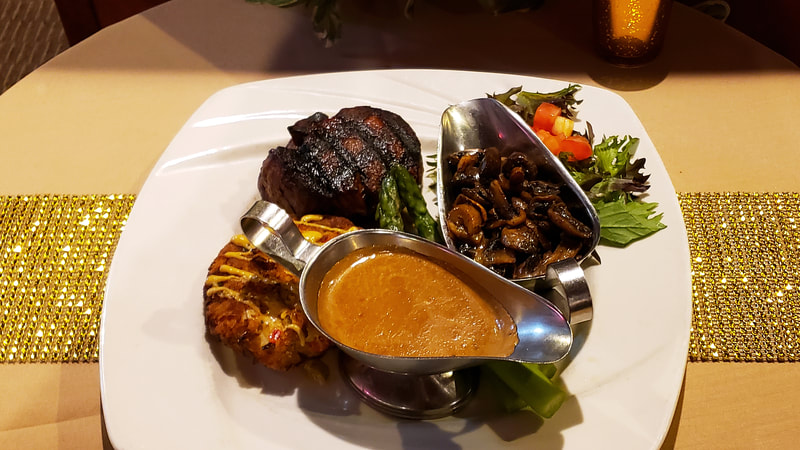 Filet and Crab